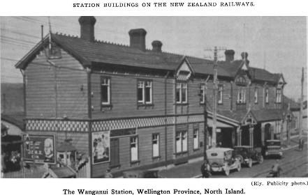 Wanganui Railway Station