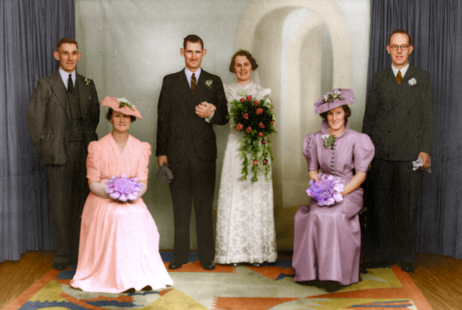 Image colourisation on Home Page by Joshua Barrett at Painting the Past